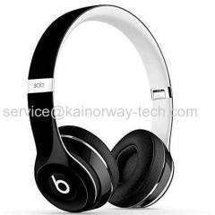 Beats by Dr. Dre SOLO2 Wired Luxe Edition on-ear-koptelefoon met afstandsbediening Talk Black