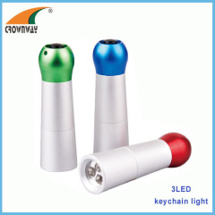 LED keychain light 15 000MCD super bright LR41 incl mini pocket lamp indoor and outdoor emergency lamp CE RoHS approval