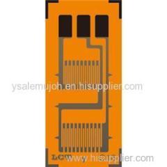 Dual-grid Linear Pattern Strain Gauge GB-A