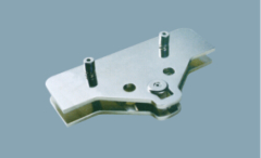 Stainless steel fixing plate for fin glass
