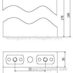 3.2V 50Ah LiFePO4 Battery For Solar Street Light