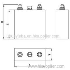 3.2V 150Ah LiFePO4 Battery For Solar Street Light