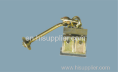 Suspension clamp for glass curtain wall