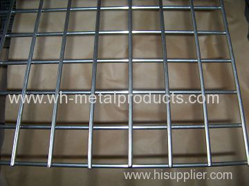 Welded wire fabric coated with zinc standard