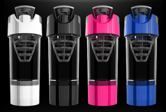 Sports nutrition shaker bleander bottle