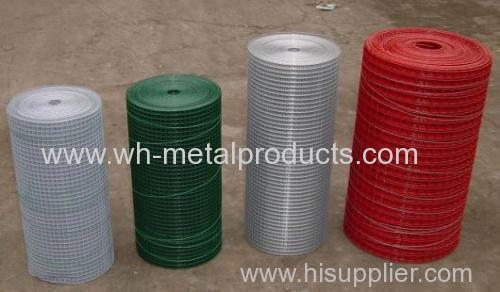 plactic coated welded wire fabric galvanized welded mesh with plastic coated pvc coated welded wire mesh