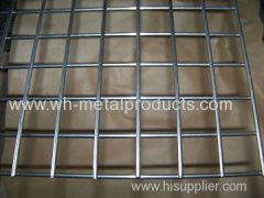 welded wire fabric coated with zinc electro galvanized welded mesh hot dipped galvanized welded fabric