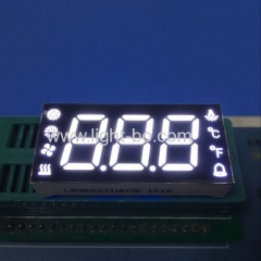 white seven segment;white led display;3 digit white led display