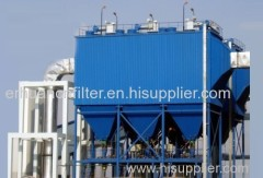 flat baghouse big air volume dust collector