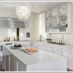 Natural Marble Vein Quartz Kitchen Countertop