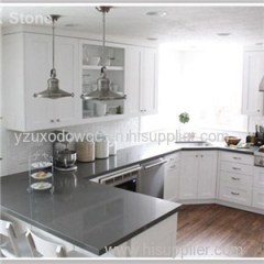 Engineered Stone Grey Quartz Countertops