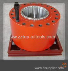 "API DSA 11"" x 10000 psi double studded adapter flange"