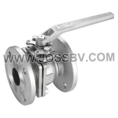 2PCS Ball Valve Flanged End With Mounting Pad DIN PN16/PN40