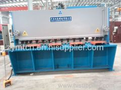 hydraulic guillotine shearing machine with CE and ISO9001 certification