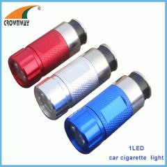 1W LED 12V car plug recharged light 3.6V Ni-Mh 60mAh rechargeable LED mini light LED hand torch flashlights