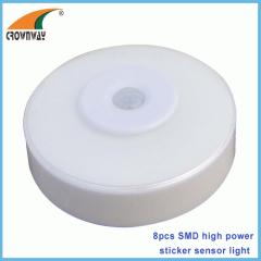 SMD sensor light 80Lumen sensor lamp cabinet lamp indoor light 3*AAA battery motion sensor mode