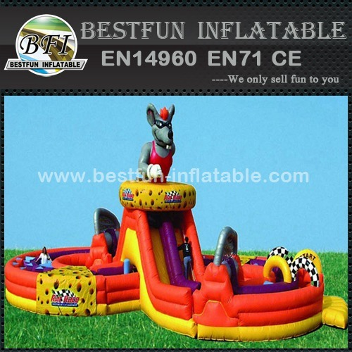 Durable special rat race obstacle courses
