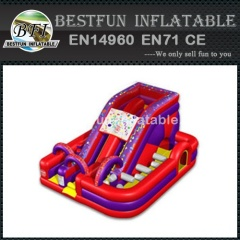 Inflatable Millennium Slide Obstacle