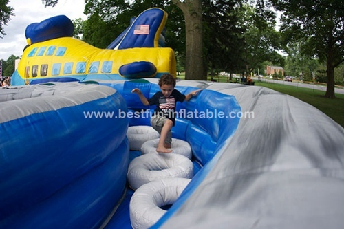 DRAGONS CASTLE INFLATABLE OBSTACLE COURSE