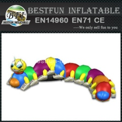 Inflatable Caterpillar Crawl Through