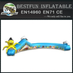 Kids game Inflatable crawl tunnel