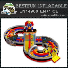 Figure 8 Inflatable Obstacle Course