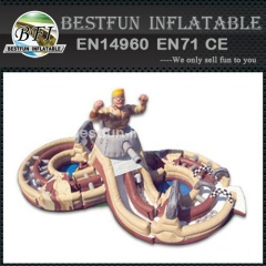Inflatable military challenge obstacle