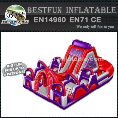 Popular Chaos Obstacle Course Inflatable