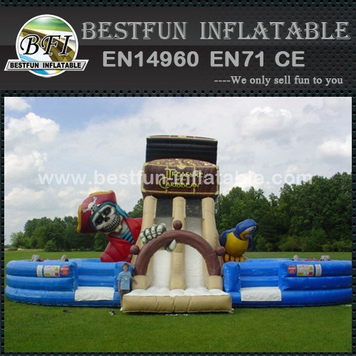Treasure of the Caribbean inflatable obstacle course