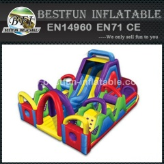 Inflatable Wacky Chaos Obstacle