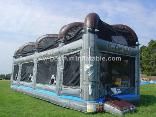 Temple Run Inflatable gauntlet games