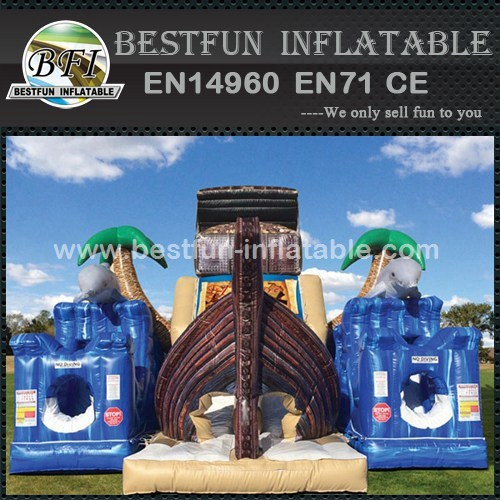Treasure Hunt Island inflatable obstacle course