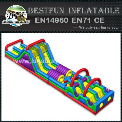 Ultimate fun inflatable obstacle course