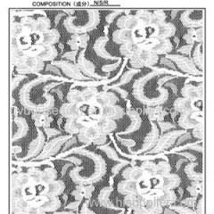 Elastic 140cm Lace Fabric (R640)