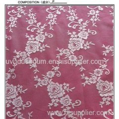 White Color Bridal Lace Fabric Factory Outlet (W7023)