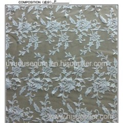 W5366 Off White Color Bridal Factory Outlet Bridal Lace Fabric (W5366)