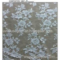 W5358 White Bridal Lace Fabric Factory Outlet (W5358)