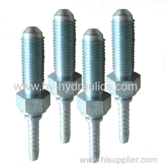 Hose fitting METRIC MALE 90 degrees Cone seat 10811L