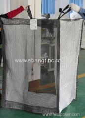 White Fabric Big Bags for Packing Sweet Potatoes