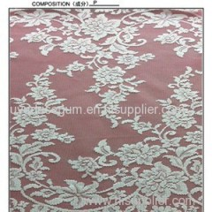 W5321 White Non-stretch Bridal Lace Fabric (W5321)