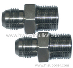 hydraulic hose fitting JIC male adapters 1CJ/1DJ