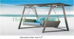 Rattan swings for patio use