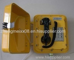 Chemical Industry Using Explosion-proof Telephone JWBT858A with Loud Speaker