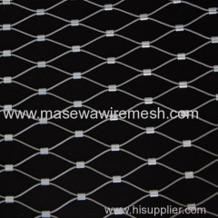 stainless steel rope mesh as fence