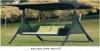 Rattan material outdoor furniture swings