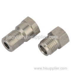 Precision machining auto oil hex union parts