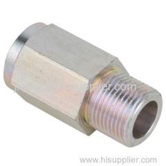 Precision machining auto oil hex union parts