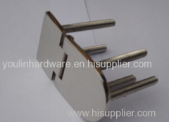 marine hardware hinge with screws