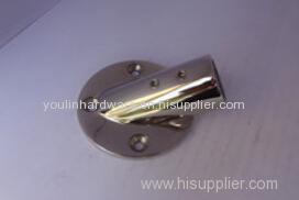 30° circular seat stainless steel