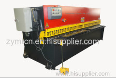 plate shearing machine with E21 controller